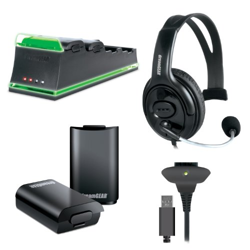 dreamGEAR 5-In-1 Essentials Pack – Xbox 360