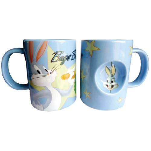 westland-giftware-4-inch-ceramic-spinner-mug-12-ounce-looney-tunes-bugs-bunny