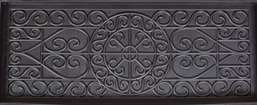 BirdRock Home Rubber Boot Tray - 34 inch Decorative Boot Tray for Entryway – Shoe Mat – Waterproof - All Weather Indoor… 2