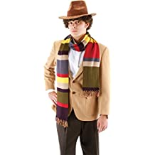 Morris Costumes Men's DOCTOR WHO 4TH DOCTOR SCARF 6F