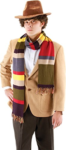 Dr Doom Costume Adults (Morris Costumes Men's DOCTOR WHO 4TH DOCTOR SCARF 6F)