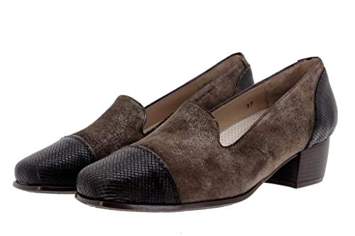 Caoba Mocasín Amples 9108 Cuir Confort Chaussure Piesanto Femme Confortables Zapato En w7xFnvqTf