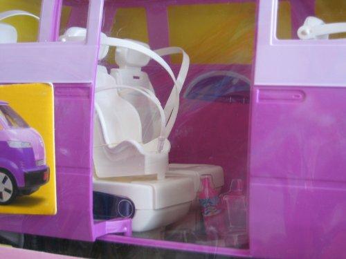 Barbie Volkswagen Microbus Vehicle Van Purple W Working