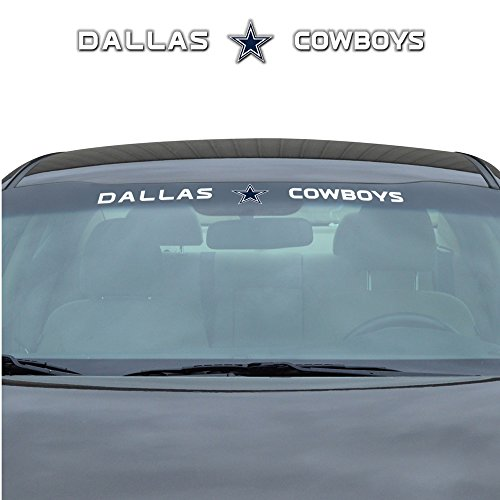 Dallas Cowboys NFL Sports Team Logo Car Truck SUV Front Windshield Window Graphic Decal Dallas Cowboys Tape Measure