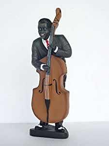 Bass jugador pequeño verkleinert 63cm para exterior de polirresina