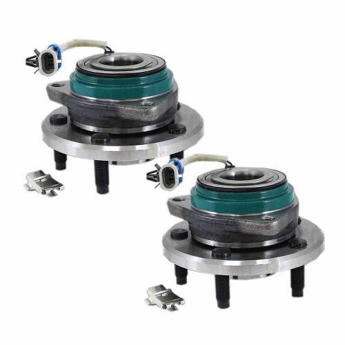 (HU513121HD x 2 (Set of 2) Brand New Wheel Hub Assembly Front Left and Right Side (5 lug) Fit 02-06 BUICK RENDEZVOUS, 97-99 BUICK RIVIERA, 97-01 CADILLAC DEVILLE, 97-01 CADILLAC ELDORADO)