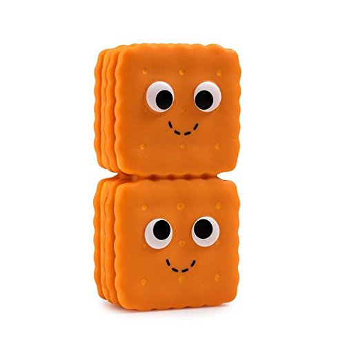 Kidrobot Figure Vinyl (Kidrobot Yummy World Gourmet Snacks Vinyl Figure - Cheese Crackers)