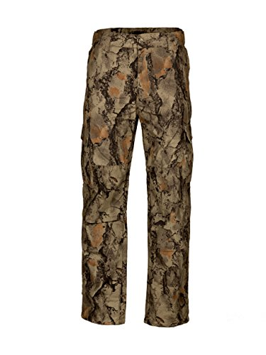 Natural Gear 6 Pocket Tactical Fatigue Pant for Men and Women, Lightweight Hunting Pants, Made with Cotton/Poly Ripstop Material (Large)
