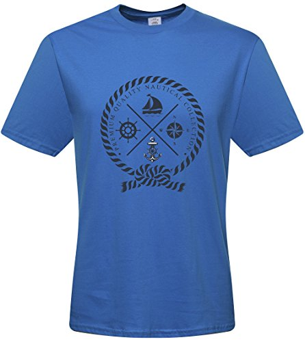 DIY Factory Store NeynStyle Mens anchor T-shirts - Pattern 2