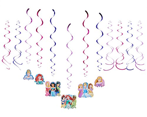 Swirl Decorations | Disney Princess Dream Big Collection | Party Accessory for $<!--$6.11-->