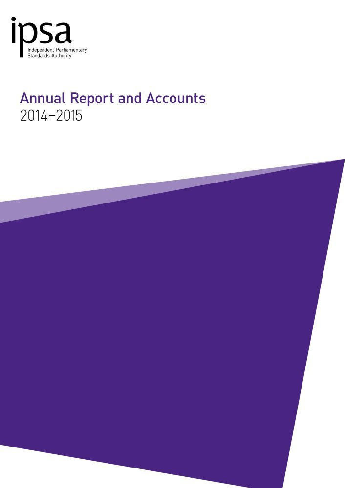 Download Independent Parliamentary Standards Authority annual report and accounts for 2014-15 (House of Commons Papers) ebook