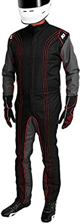 K1 Race Gear CIK//FIA Level 2 Approved Kart Racing Suit Green, XX-Large