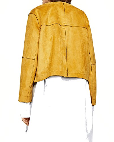 Zara Femme Blouson effet daim 3046/043