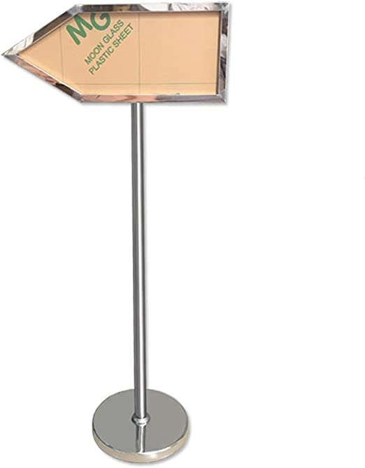 Amazon Com Dlt Stainless Steel Round Pedestal Poster Stand Arrow Shape Guide Sign Holder With Double Sided Poster Display Ideal For School Church Business Show Sliver Home Kitchen If a player pierces themselves with the arrow, they will obtain a stand. amazon com