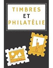 timbres et philatélie: Mon suivi et organisation des timbres-poste - Album de timbres pour collectionneurs pour filles et garçons