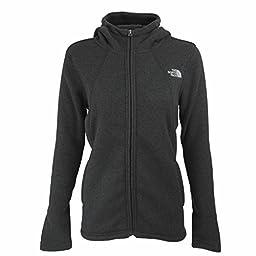 The North Face Crescent Full Zip Womens Jacket - Medium/TNF Black Heather