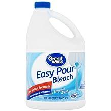 Great Value Splash-less Bleach, 121 fl oz (1)