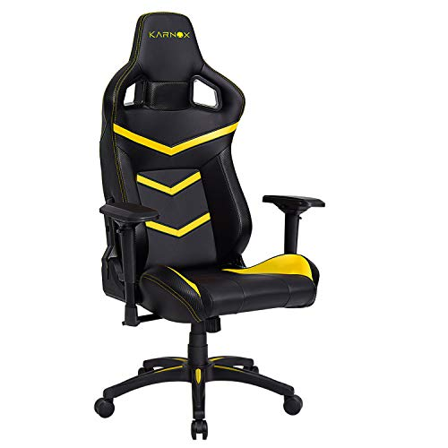 Karnox Gaming Office Chair With 180 Recline Pu Leather