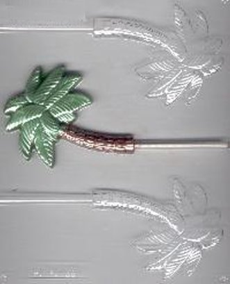 Medium Palm Tree Pop Candy Mold