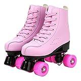 Women's Roller Skates,Faux Leather Roller Skates