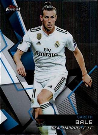 da602ce872c 2018-19 Finest UEFA Champions League  3 Gareth Bale Real Madrid C.F. Soccer  Card