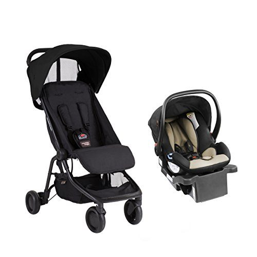 Mountain Buggy Nano - Protect Travel System, Black by Mountain Buggy