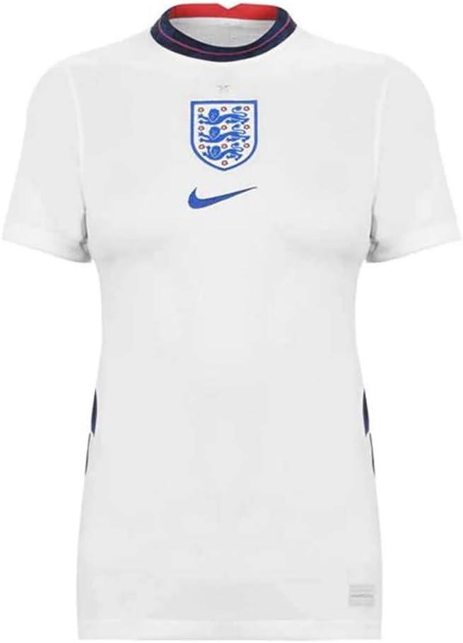 Nike 2020-2021 England Home Womens Football Soccer T-Shirt Jersey