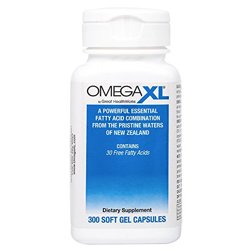 OmegaXL Natural Powerful Omega 3 Supplement product image