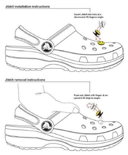 18 Disney Princess Shoe Charms for Jibbitz Croc Shoes & Wristband Bracelet