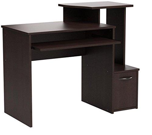 Sauder 408726 Beginnings Computer Desk, L: 39.61 x W: 19.45 x H: 34.02, Cinnamon Cherry finish
