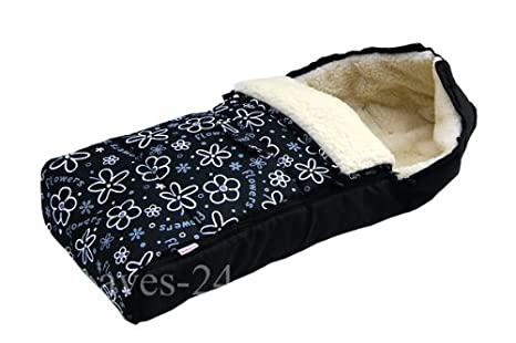 Baby Lux Saco lana de cordero 105 cm saco de invierno Cochecitos de ...