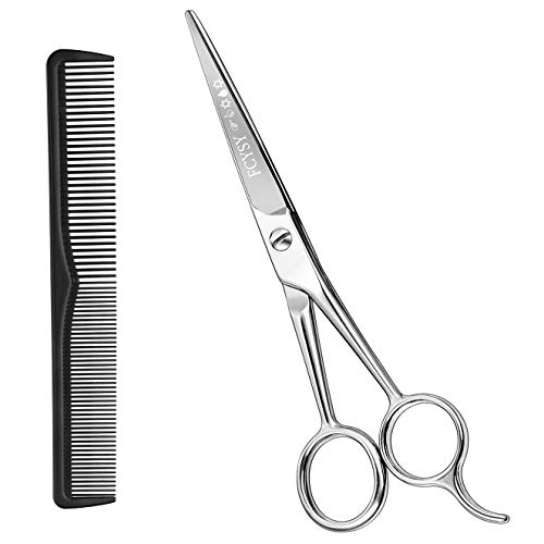 """Hair Cutting Scissors Hair Shears- Fcysy 5.5""""Professional Barber Sharp Hair Scissors Hairdressing Shears Sizzors Sheers Scissors Hair Comb Included for Women Men"""