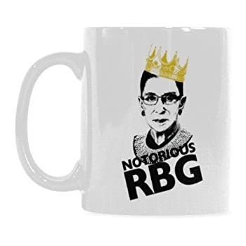 3d3e24d644f Notorious RBG Ruth Bader Ginsburg Coffee Mug Funny Tea Cup Gift Idea for  Him or Her