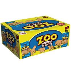 Austin(R) Zoo Animal Crackers, 2 Oz, Case Of 36