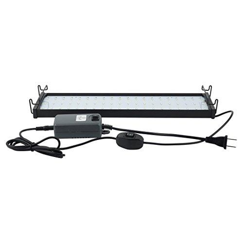 Felji 15-24 Inches 10W Aquarium Fish Tank LED Lights with Extendable Bracket