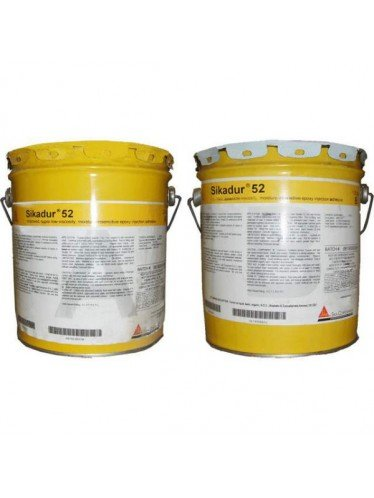 Sika Sikadur 52 3gallon Unit- 2-component, Very-Low-Viscosity, Moisture-Tolerant Epoxy Injection Adhesive by Sika