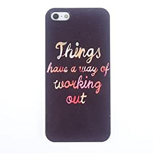GJYWorking Out Design Aluminium Hard Case for iPhone 5/5S