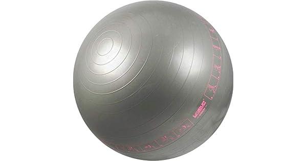 969ccd1cdc Bola Suíça com Ilustrações de Exercícios para Pilates 65 CM - LIVEUP  LS3577-C  Amazon.com.br  Esportes e Aventura