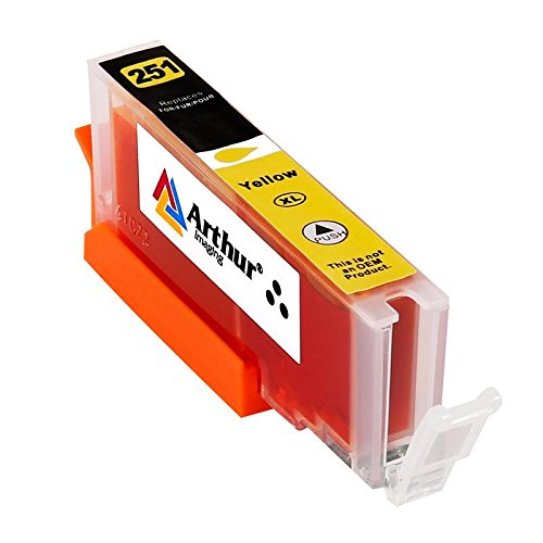 28 Pack Arthur Imaging Compatible Ink Cartridge Replacement for 250XL 251XL (12 Large Black, 4 Small Black, 4 Cyan, 4 Yellow, 4 Magenta, 28-Pack) Photo #4