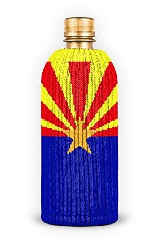 FREAKER Fits Every Bottle Can Beverage Insulator, Stops Bottle Sweat, Arizona State Grand Canyon Flag