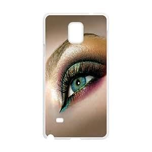 Naza Eye Samsung Galaxy Note 4 Case Gorgeous Eye for Women Protective, Samsung Galaxy Note 4 Case for Girl for Women Protective [White]