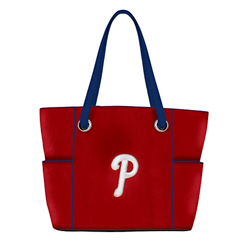 Charm14 MLB Philadelphia Phillies Deluxe Tote Bag with Embroidered ()