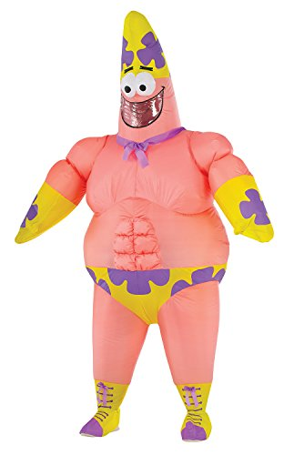 Rubie's Costume Co Men's SpongeBob Movie Inflatable Patrick Star Costume, Multi, Standard