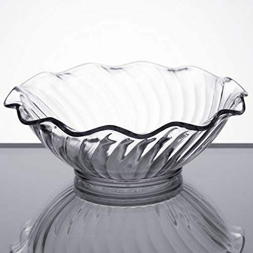 TableTop King 453107 Clear 5 oz. Tulip Berry Dish - 24/Case