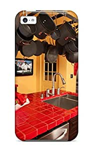 meilz aiaiMark Evans DEPygvc10165hSszB Protective Case For ipod touch 4(red-tiled Kitchen Countertops With Hanging Pot Rack)meilz aiai