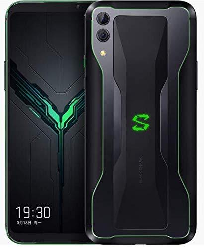 "Xiaomi Black Shark 2 SKW-H0 (128GB + 8GB RAM) 6.39"", Snapdragon 855, Liquid Cooled, Dual Cameras, 4G LTE Dual SIM GSM Unlocked Gaming Smartphone - International Global Version (Black)"