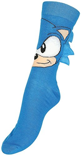 Sega Sonic Crew Sock With Quills Os
