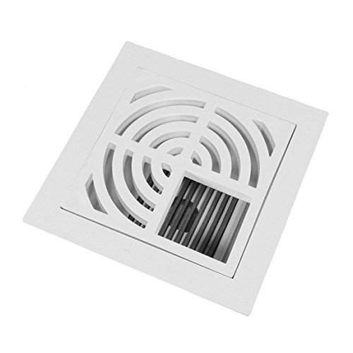 4 Pipe Fit - Complete Floor Sink Kit - 3/4 Top grate - Dome Bottom Grate PVC