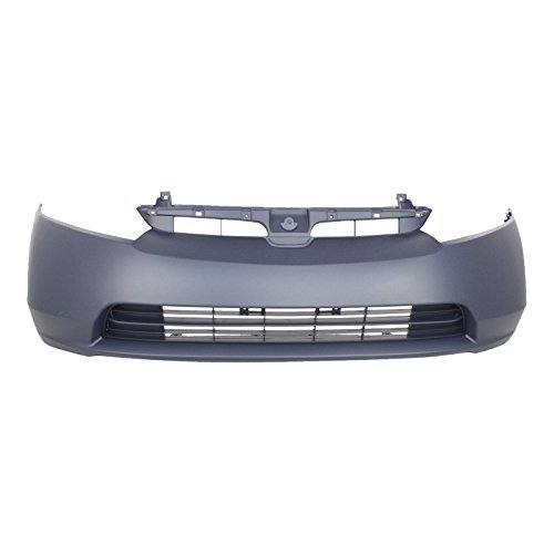 MBI AUTO Painted To Match, Front Bumper Cover Fascia for 2006 2007 2008 Honda Civic 1.8 Sedan 06 07 08, HO1000239