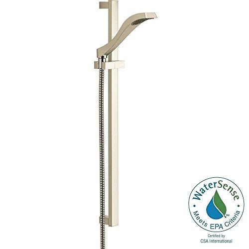 Delta Faucet 57051-PN Dryden Slide Bar Handshower, Polished Nickel